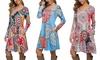 Leo Rosi Women's Kim Dress. Plus Sizes Available.