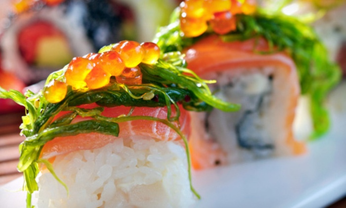 Fuji Japanese Steak & Sushi Dalton - Apison: Japanese Fare and Drinks for Dinner or Lunch at Fuji Japanese Steak & Sushi Dalton (Up to 53% Off)