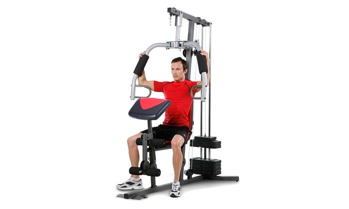 Up to off on weider home gym system groupon goods