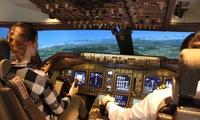 """Bis zu 180 Minuten Flugsimulator im Original-Cockpit der Boeing 747""""Jumbo"""" bei EVS Flighttraining (bis zu 55% sparen*)"""