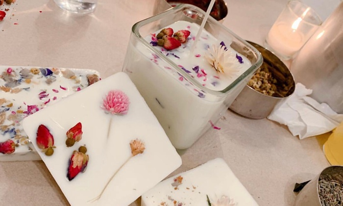 BYOB Soy Candle-Making Class - VIP Paints | Groupon