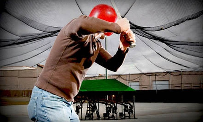 Sluggers Batting Cages - Tamiami Park: $20 for $40 Worth of Batting-Cage Tokens at Sluggers Batting Cages