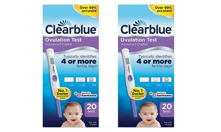 20 or 40 Clearblue Advanced Digital Ovulation Tests