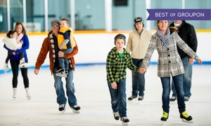 Pines Ice Arena: Ice Skating for Two with Cocoa or Eight-Week Learn to Skate Class at Pines Ice Arena (Up to 44% Off)