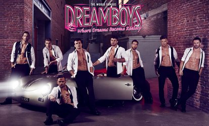 image for The Dreamboys Show with Cocktail and Nightclub Entry, 7 October - 23 December 2017 (Up to 40% Off)