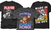Classic Nintendo Men's Tees (Extended Sizes Available): Classic Nintendo Men's Tees (Extended Sizes Available)