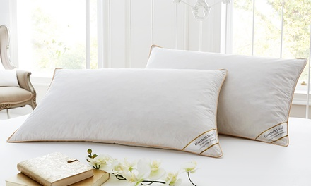 Two, Four or Eight Duck Feather and Down-Filled Pillows