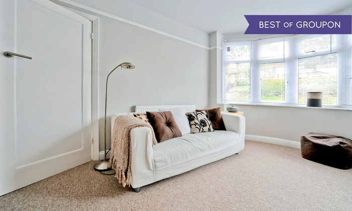 Prestige Carpet & Upholstery Cleaning - Downtown Walnut Creek: Carpet or Upholstery Cleaning from Prestige Carpet & Upholstery Cleaning (Up to 87% Off). Three Options Available.