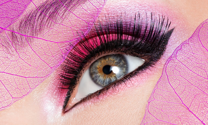 I Love Lash - Englewood Cliffs: Set of Synthetic Mink or Glamorous Lash Extensions at I Love Lash (Up to 50% Off)