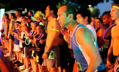 image for Admission to Glow in the Dark 5K at Firefly Run (Up to 45% Off)