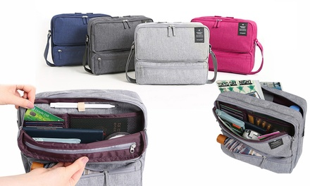 One or Two Carry On Multiple Compartment Organiser Shoulder Bags
