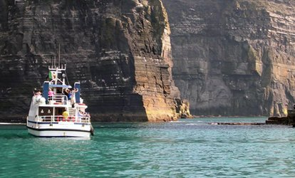 image for Cruise To Cliffs of Moher and Optionally Inis Oírr for One or Family of Four with O'Brien Line