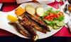 Menu portugais en 3 services