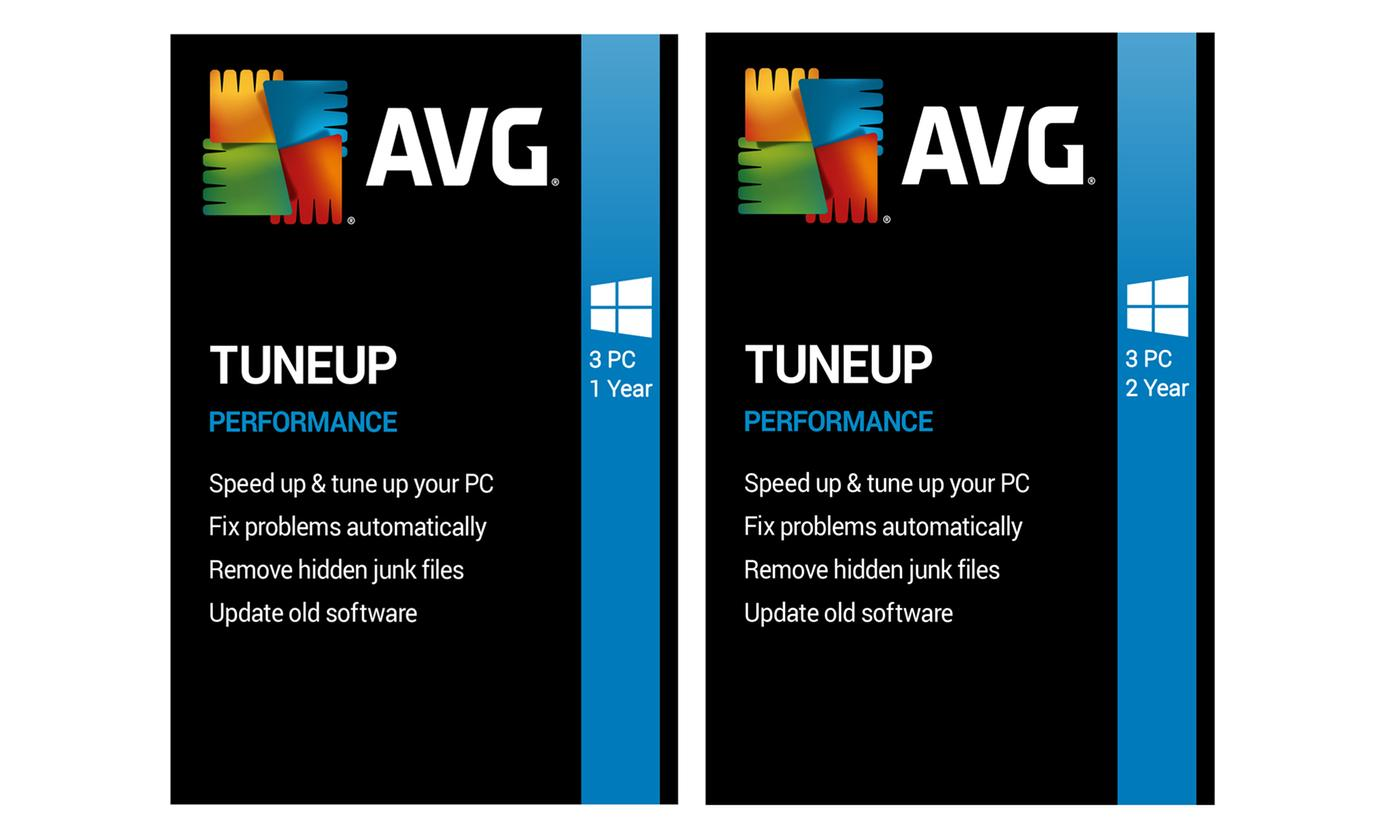 AVG PC TuneUp 2020 3 PC One or Two Years