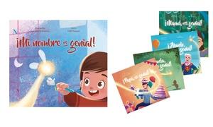 oferta: 1, 2, 3 o 5 libros personalizados para niños desde 9,99 €