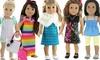 """18"""" Doll Clothes Set (26-Piece)"""