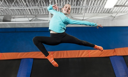 Two, Four, or Six 60- or 90-Minute Jump Passes at Sky Zone Manassas (Up to 35% Off)