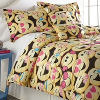 Emoji Printed Comforter Twin Sets Deals