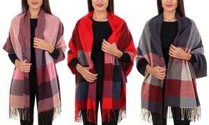 Gilbin's Women's Plaid Blanket Scarf at Gilbin's Women's Plaid Blanket Scarf, plus 6.0% Cash Back from Ebates.