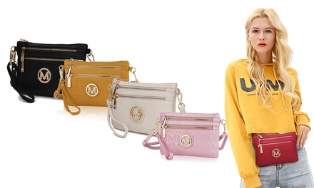 $29 for a Woman's MKF Collection Milan M Signature Cross-Body Wristlet