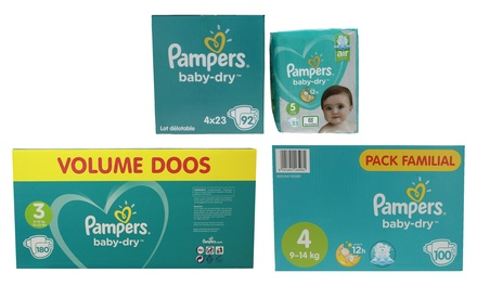 92, 100 o 180 Pañales braguita Pampers Baby Dry