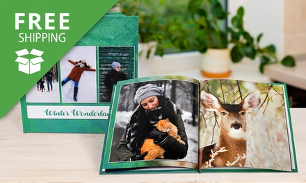 Free Shipping: Personalised Photobook: Softcover or Hardcover Don't Pay up to $254.95