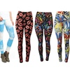 Juniors' Ultra-Soft Colorful Printed Leggings (6-Pack)