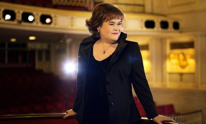 AEG Live - Arlington Theatre: Susan Boyle at Arlington Theatre on October 9 at 8 p.m. (Up to 46% Off)