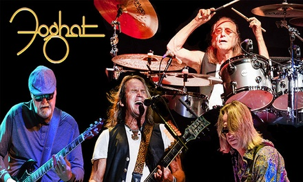 Foghat at The Paramount on Saturday, September 11