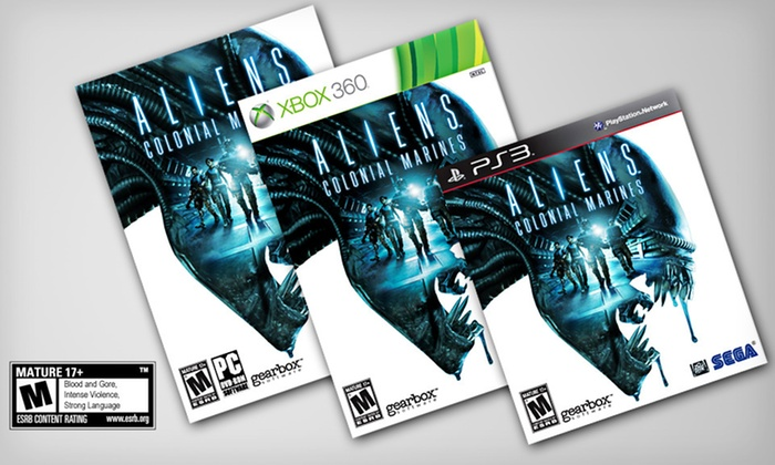 Aliens: Colonial Marines with Weapon-Unlock DLC Code: Aliens: Colonial Marines for PC, PlayStation 3, or Xbox 360 (Up to 52% Off). Free Shipping and Free Returns.