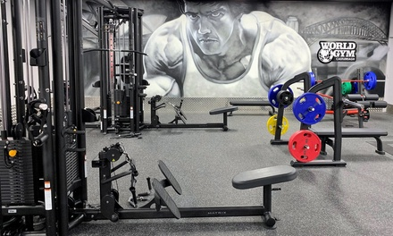 OneMonth Gym Membership for One $19 or Two People $29 at World Gym Castlereagh Up to $304 Value