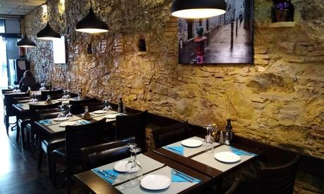 Menú para 2 o 4 con entrante, principal, postre y bebida o botella de vino desde 19,99 € en Restaurante Giulietta Oferta en Groupon