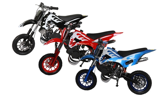 moto pocket cross 49cc kx groupon shopping. Black Bedroom Furniture Sets. Home Design Ideas