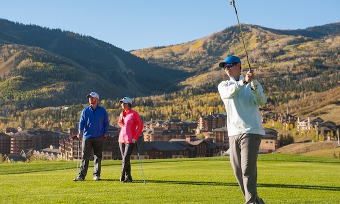 Canyons Golf - Snyderville: $99 for an 18-Hole Round for Two Plus a Cart at Canyons Golf ($190 Value)