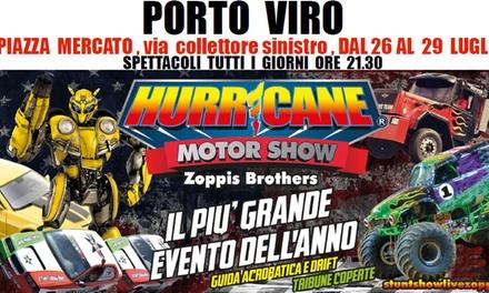 Sconto Esperienze Groupon.it Hurricane Motor Show, Porto Viro