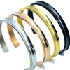 Stainless Steel Hair Tie Holder/Cuff Bracelet Bangle