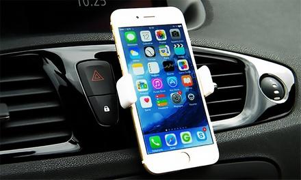 Universele smartphonehouder voor in de auto, naar keuze met Apple 30pin of lightning kabel of Android kabel