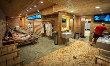 Russian Banya Admission for One at Red Square (Up to 37% Off)