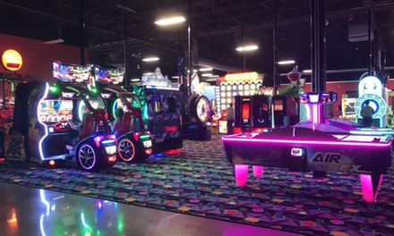 Family Entertainment Packages with Play Cards at Play and Spin (Up to 50% Off). Four Options Available.