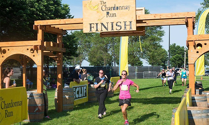 The Chardonnay Run - Arena Green East: $39 for Entry and VIP Parking Pass to The Chardonnay Run($70 Value)