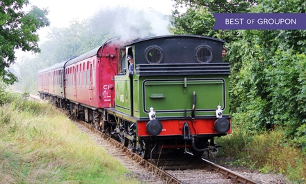 The Wensleydale Railway Easter Special Train, 1417 April