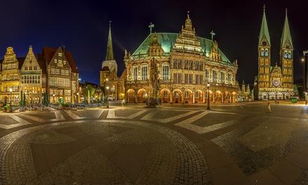 1 Stunde interaktive Mondschein Tour mit Infos zur Bremer Geschichte und Stadtmusikantenschluck (bis zu 34% sparen*)