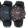 Steeltime Men's Watches with Rubber Straps