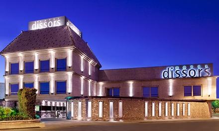 $915 en vez de $1835 por experiencia para dos con pernocte + desayuno en Dissors Hotel