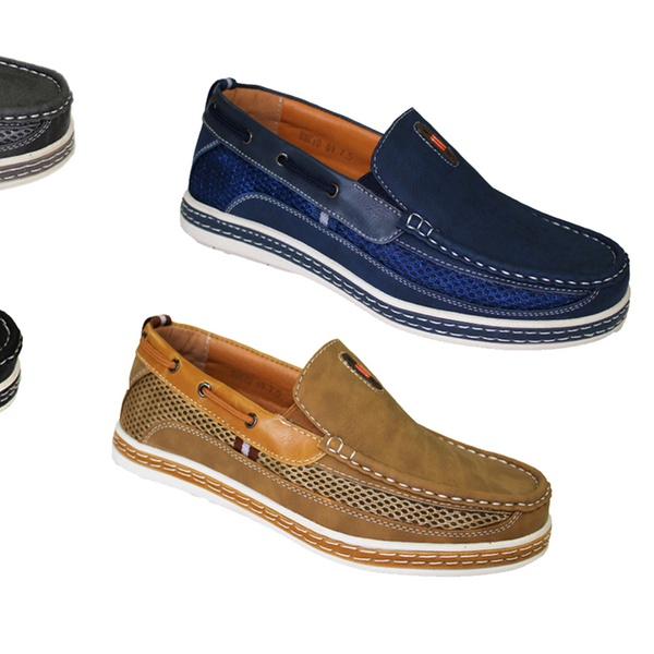 d942f6f77734a Up To 69% Off on Frenchic Men's Slip-On Loafers | Groupon Goods