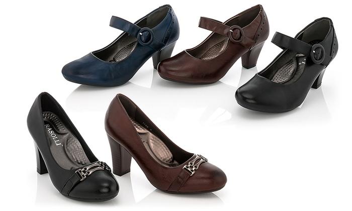 Rasolli Women's Comfort Career Dress Shoes