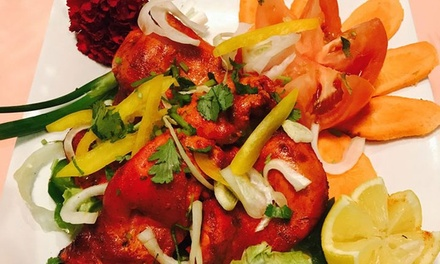 Indian Cuisine at Mughal Darbar (Up to 53% Off). Four Options Available.