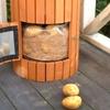 Wooden Potato Planter