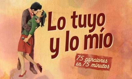 """Entrada al musical """"Lo Tuyo y lo Mío"""" los días 8, 16 y 23 de febrero en Eixample Teatre (con 54% de descuento)"""