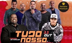 Audio: Show Tudo Nosso com Péricles, Ferrugem e Samprazer – Av. Francisco Matarazzo, 694: 1 ou 2 ingressos para dia 11/10